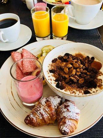 Molle, السويد: Frukost