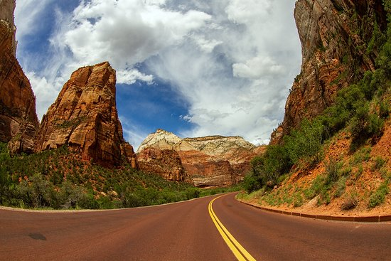 Zion Canyon Scenic Drive: Zion National Park