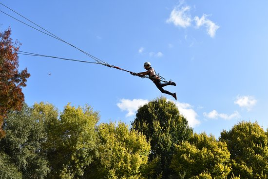 Harrietville, Australia: Our Giant Swing is just one of our onsite adventure activities