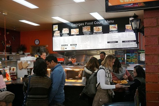 George's Takeaway: Service Counter