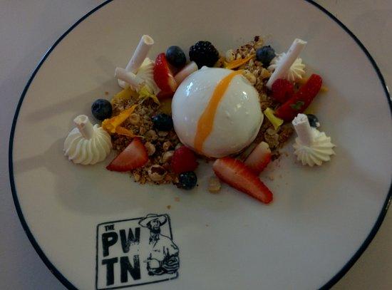 The PWTN: Bora Bora cheesecake