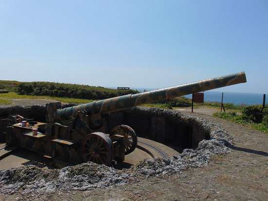 Torteval, UK: You can get up and close to this Gun