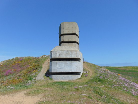 Torteval, UK: and then just a short walk to this Observation Tower