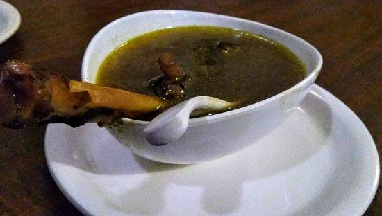 Vaishali: Mutton paya soup
