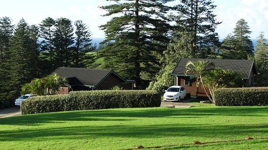 Coast Norfolk Island: One of the cabins