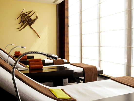 The Spa at Hyatt Hyderabad: Relaxing Area for the Spa Guests