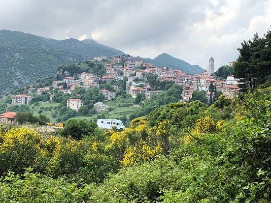 Stemnitsa, กรีซ: menalon trail-dimitsana