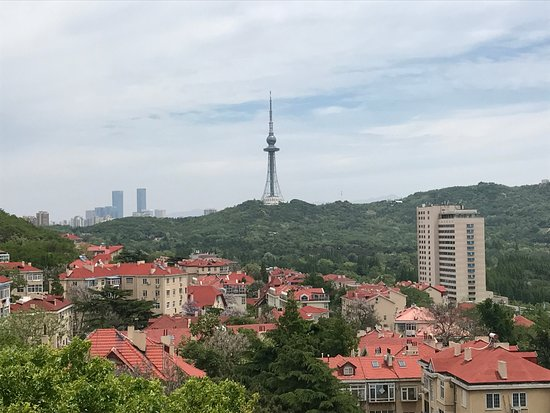Qingdao XiaoYushan Park : Overview look from park