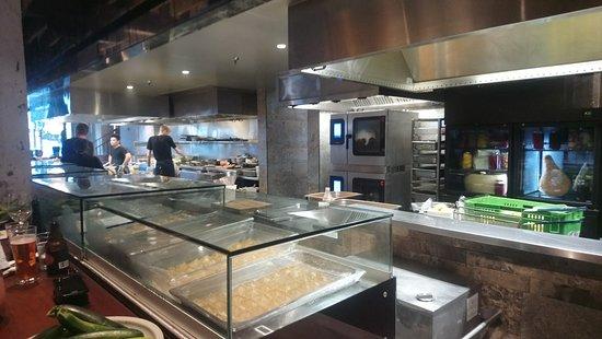 Amano: Kitchen