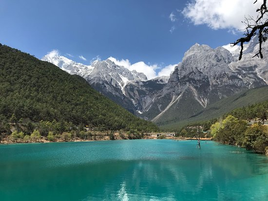 Ride China Motorcycle Tours and Rentals: Blue lagoon mountain