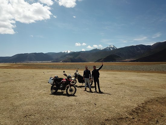 Ride China Motorcycle Tours and Rentals: Dron pic