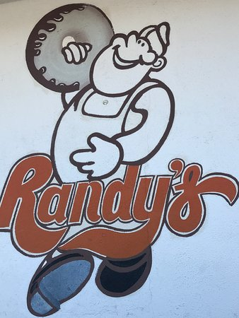 Randy's Donuts: Sign
