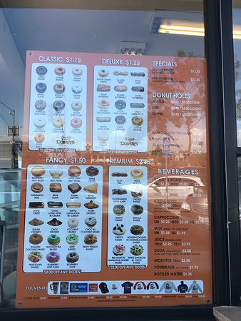 Randy's Donuts: Flavors