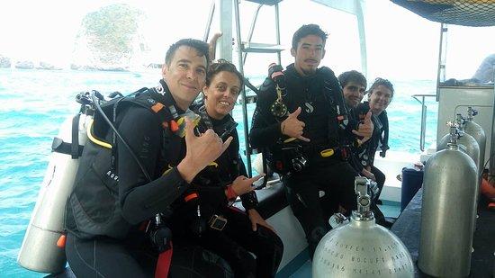 French Kiss Divers: Palanquée gagnante pour voir le Mola-Mola !