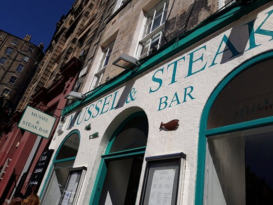 Mussel and Steak Bar: Shop Front