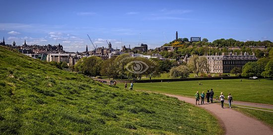 Holyrood Park: strada di accesso al parco