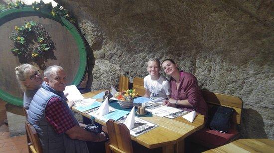 Chodova Plana, Czech Republic: Mom, Dad, Heinrich and Bohunka.