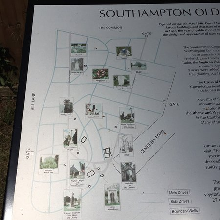 Southampton Old Cemetery: History but needing some TLC