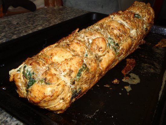My Kitchen: chiken stuffed with spinach