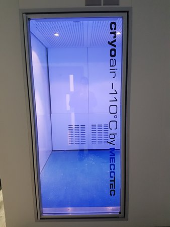 CryoLife: First cryotherapy chamber