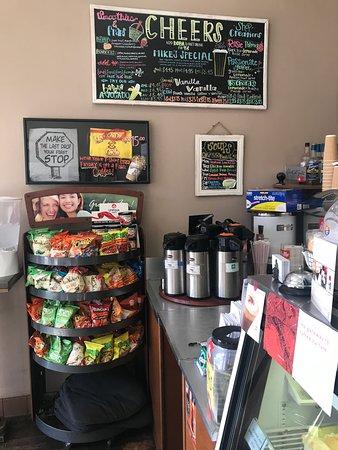 Last Drop Cafe: Menu