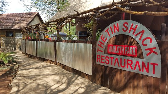 Marloth Park, Sydafrika: The Tin Shack Entrance