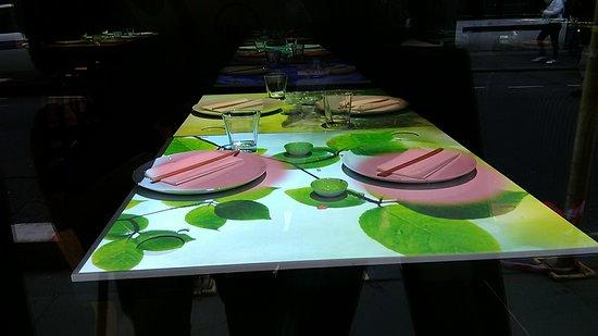 Inamo Soho: Inamo Games Room - The legendary interactive tables upstairs