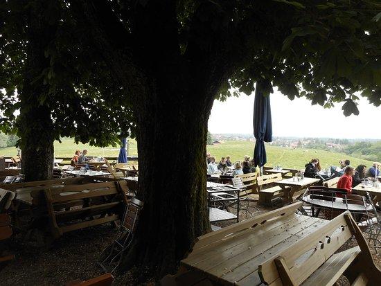 Sachsenkam, Alemanha: Biergarten