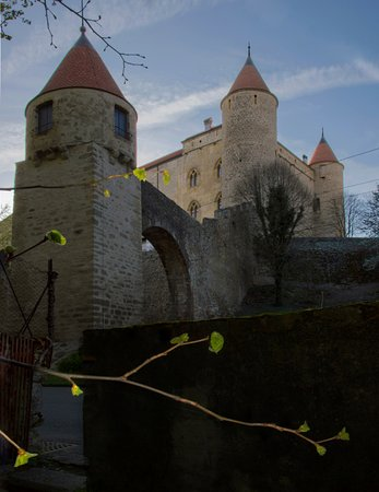 Grandson, سويسرا: Château de Grandson