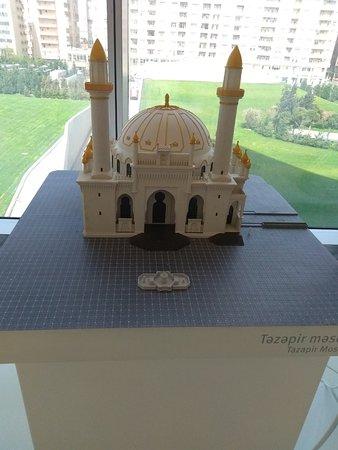 Heydar Aliyev Cultural Center: Выставка миниатюр достопримечательностей