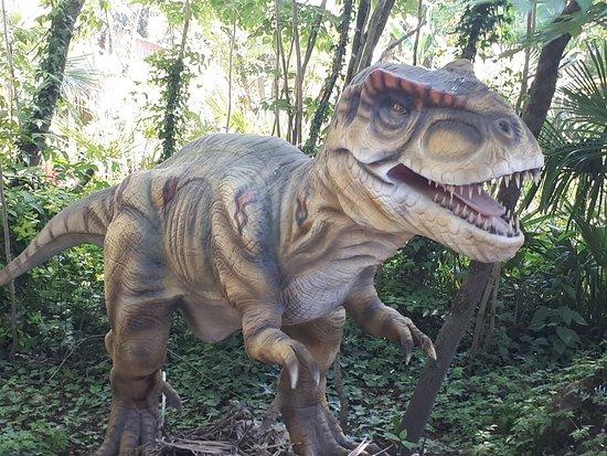 Saint Jacut les Pins, ฝรั่งเศส: Les dinosaures