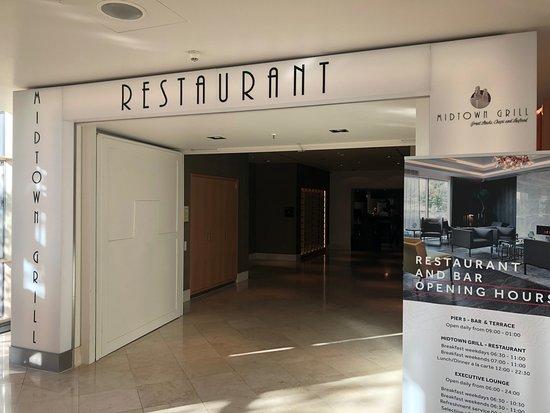 Copenhagen Marriott Hotel: Restaurant entrance