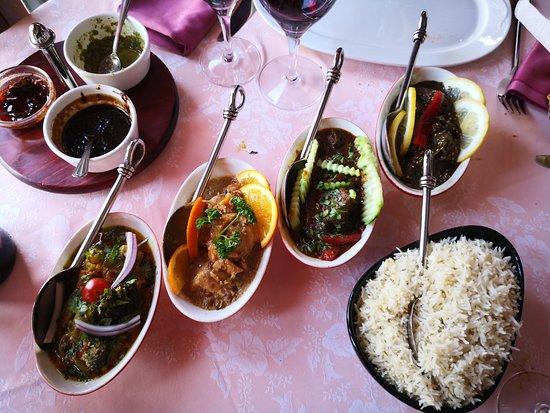Visita en familia Restaurante Basmati Palma de Mallorca