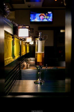 Sayanogorsk, Russia: Можно выпить пива - кружку или башню, одному или с друзьями)