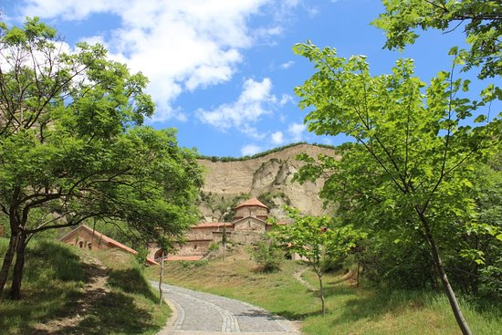 Mtskheta-Mtianeti Region, Georgië: This is amazing Shio-Mgvime Monastery, located near Georgian old capital, Mtskheta.