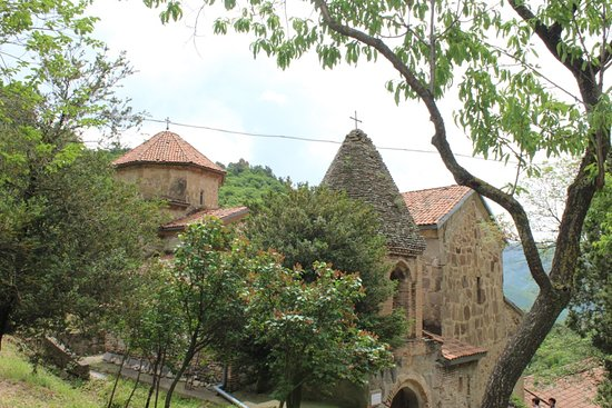 Mtskheta-Mtianeti Region, Georgië: Shio-Mgvime is close to Tbilisi and has great nature and history