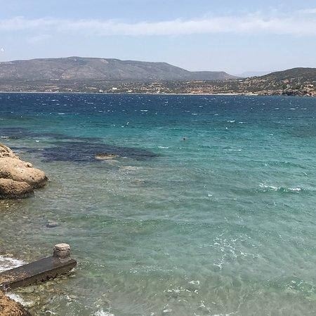 Archangelos, اليونان: Mer magnifique