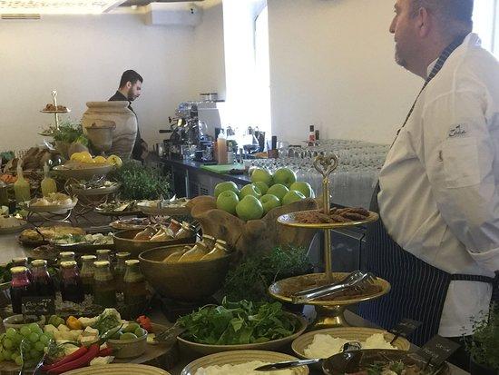 The Drisco Hotel Tel-Aviv: Breakfast Buffet at the Drisco Hotel Tel Aviv -ZADA