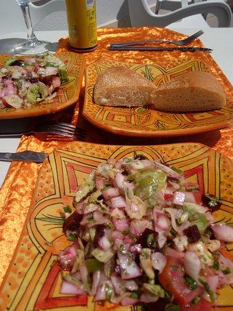 El Pinar de Campoverde, Ισπανία: Delicious salad