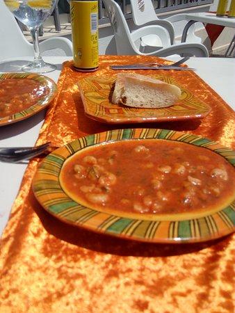 El Pinar de Campoverde, สเปน: Gourmet prawns