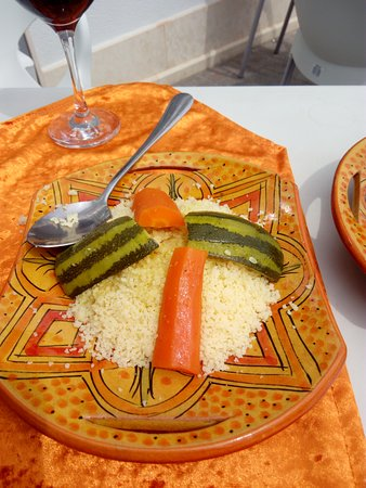 El Pinar de Campoverde, Hiszpania: Vegetable Couscous