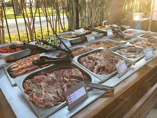 Aydinbey King's Palace & Spa: Auswahl beim Barbecue