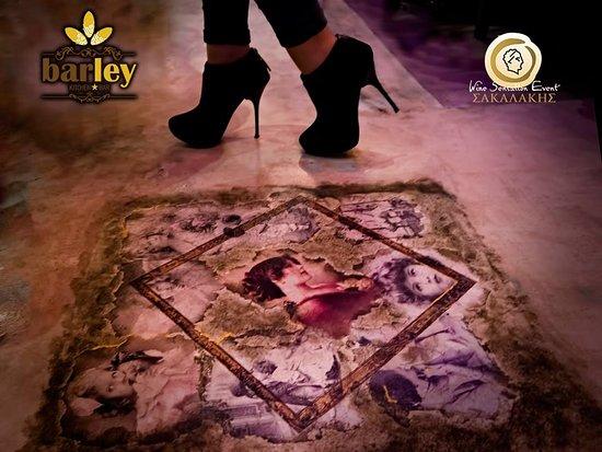Ptolemaida, กรีซ: Vintage floor decoration