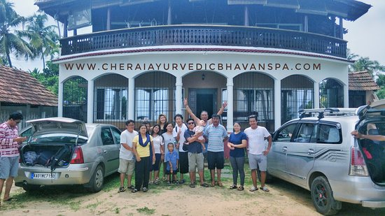 Cherai Ayurvedic Bhavan Spa: Our guests from Tibet...... Hope seen Next Time