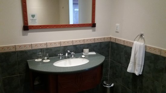 Summerstrand, جنوب أفريقيا: Good sized bathroom
