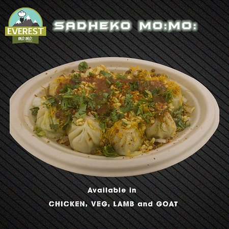 Everest Mo:Mo:: Sadheko Mo:Mo: (Nepalese Style Sadheko Dumplings)