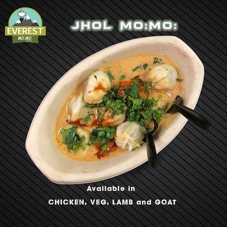 Everest Mo:Mo:: Jhol Mo:Mo: (Nepalese Style Soup Dumplings)