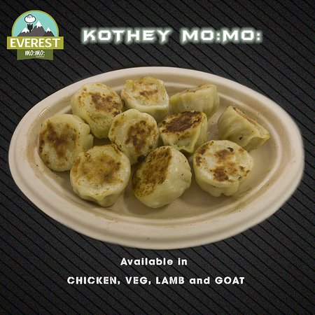 Everest Mo:Mo:: Kothey Mo:Mo: (Nepalese Style Pan Fried Dumplings)