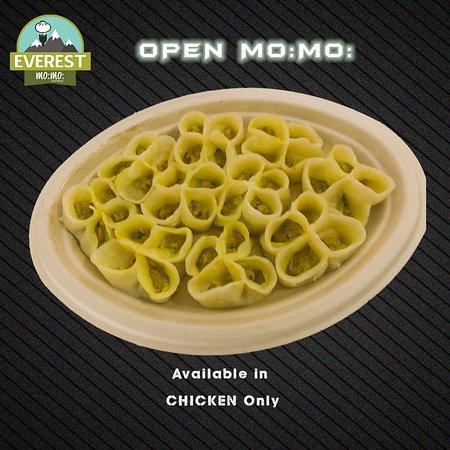 Everest Mo:Mo:: Open Mo:Mo: (Nepalese Style Open Dumplings)