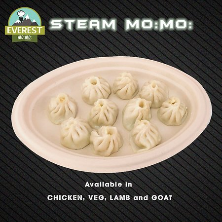 Everest Mo:Mo:: Steam Mo:Mo: (Nepalese Style Steam Dumplings)
